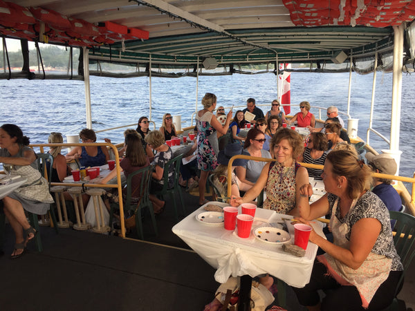 Georgian Bay Painting Cruise, Wednesday August 22, 6:30pm to 8:30pm