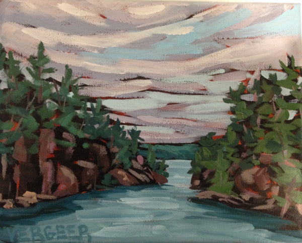 Georgian Bay Painting Cruise, Friday August 9, 6:30pm to 8:30pm