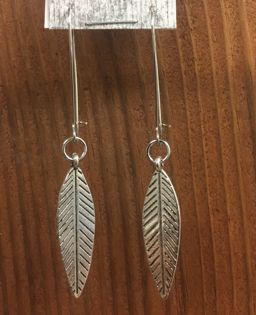 Jibe Jewellery Leaf Earrings