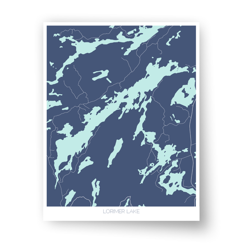 Lorimer Lake Art Map