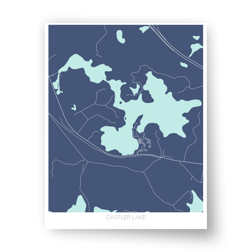 Oastler Lake Art Map