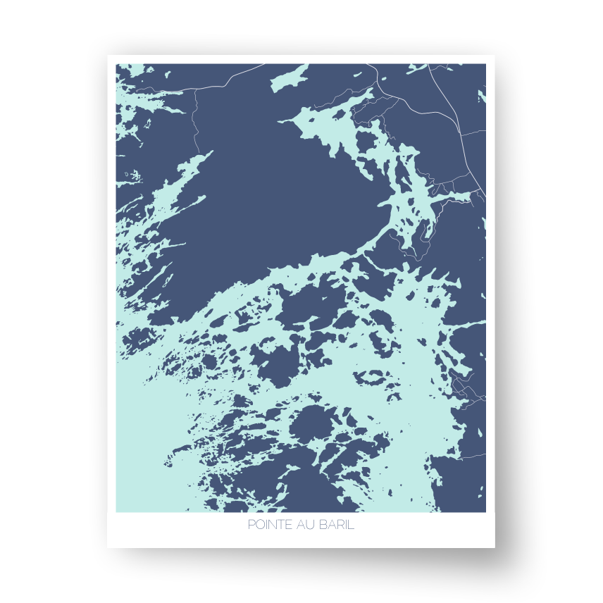 Pointe au Baril Art Map