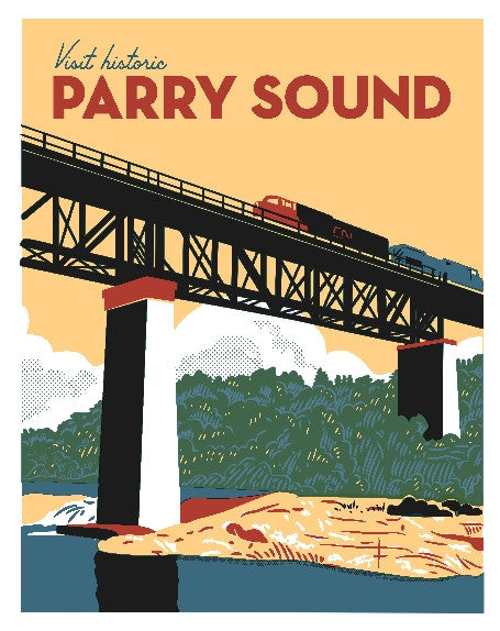 Visit Historic Parry Sound Poster