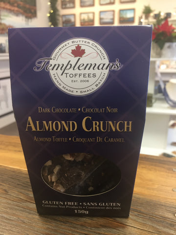 Templeman's Toffee - Almond Crunch