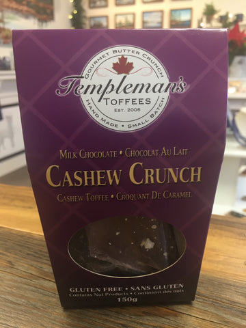Templeman's Toffee - Cashew Crunch