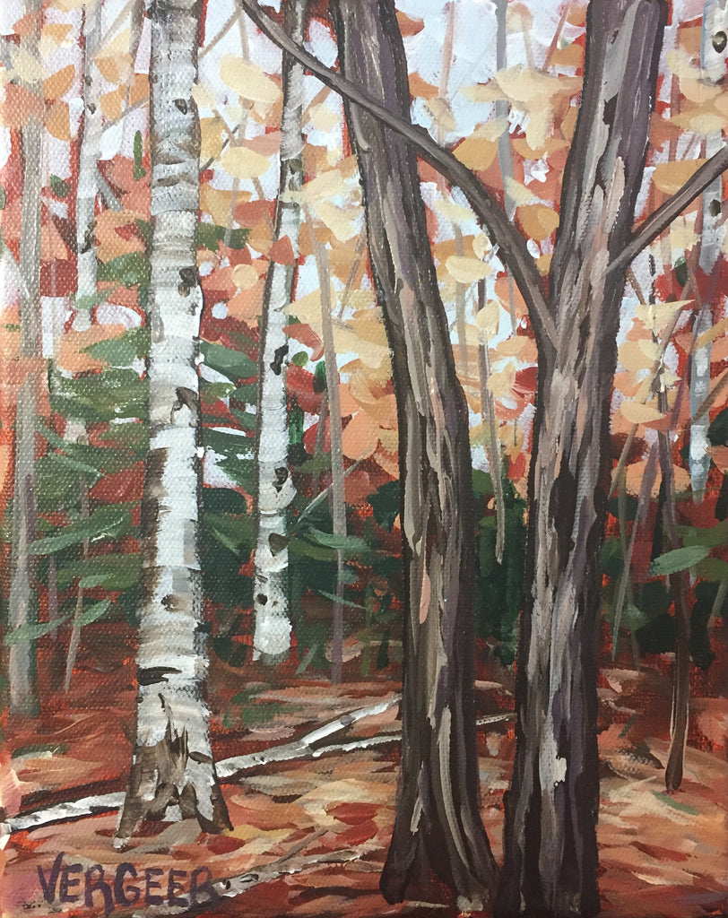 The Forest Calm Painting Class, Saturday October 20, 1-3PM