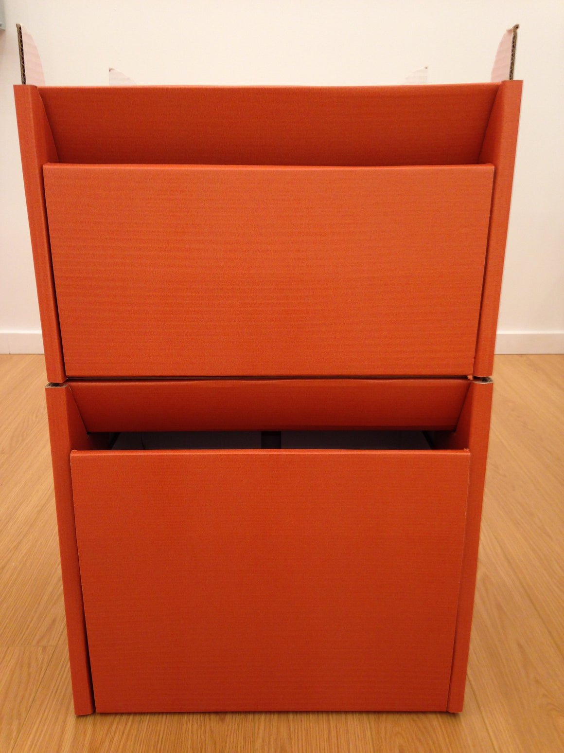 Stackable Modular Carboard Cabinet