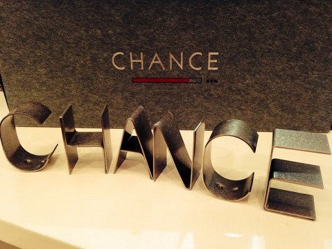 Metal Word Set - CHANCE