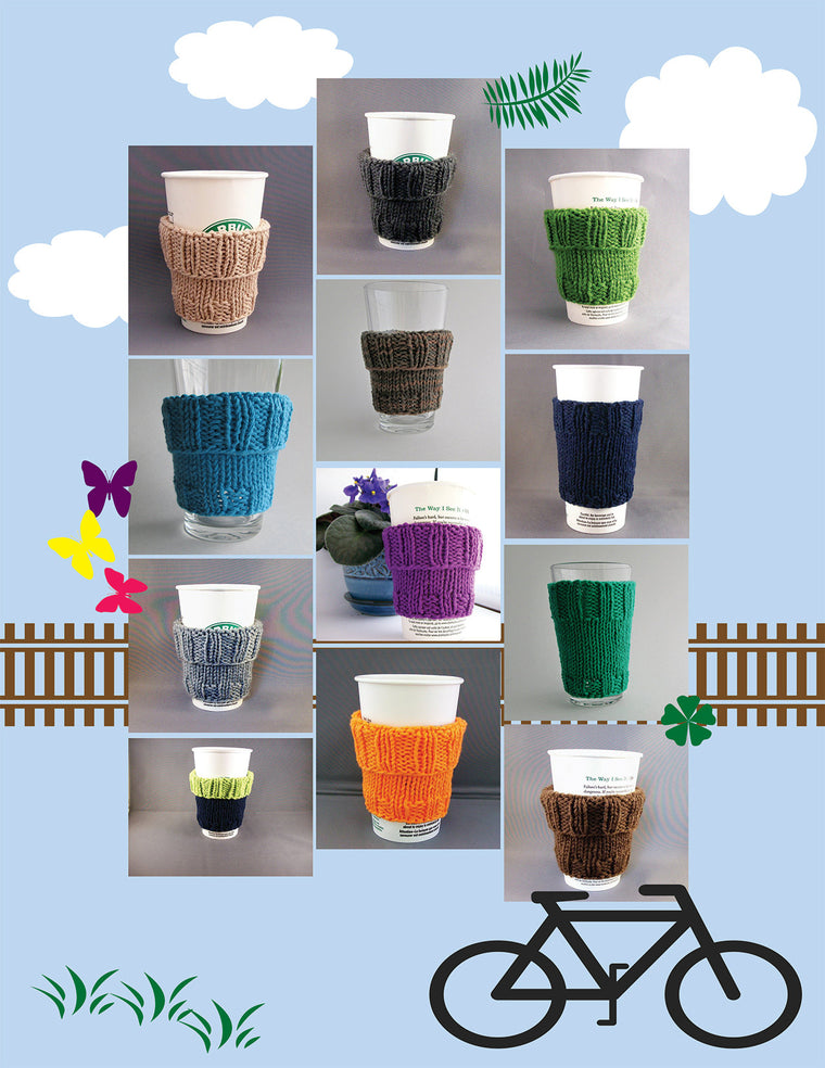 Cup Cozy - Knitted Cup Sleeve
