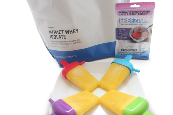 Whey Protein Powder Popsicles Recipe