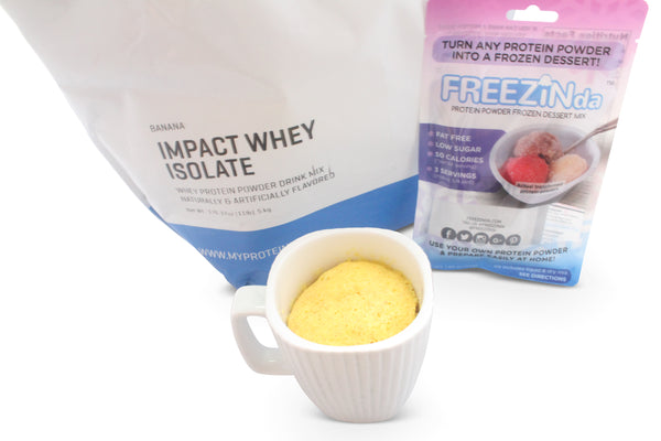 Whey Protein Powder Microwavable Dessert Muffin Recipe