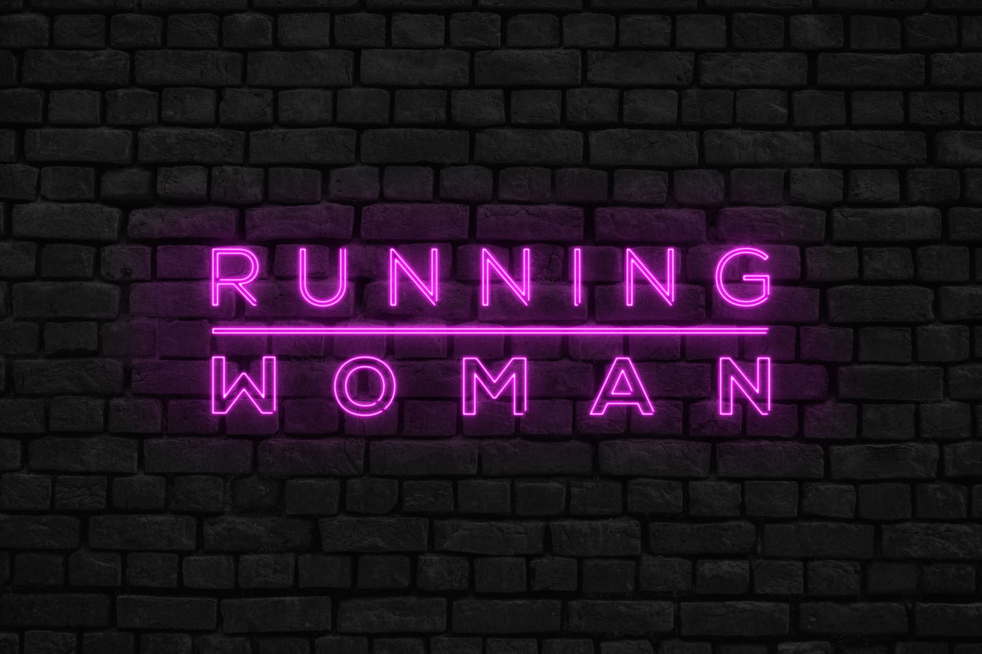 Welcome to Running Woman header