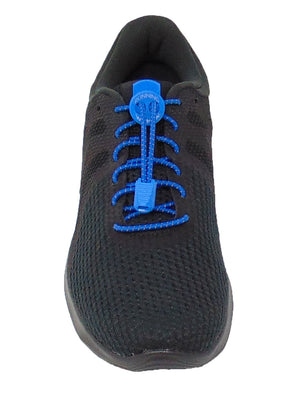 Blue Reflective FastenFlex Laces