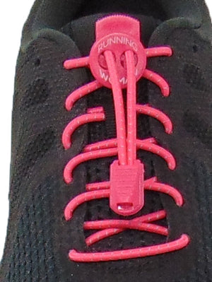 Pink Reflective FastenFlex Laces