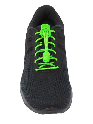 Neon Green Reflective FastenFlex Laces