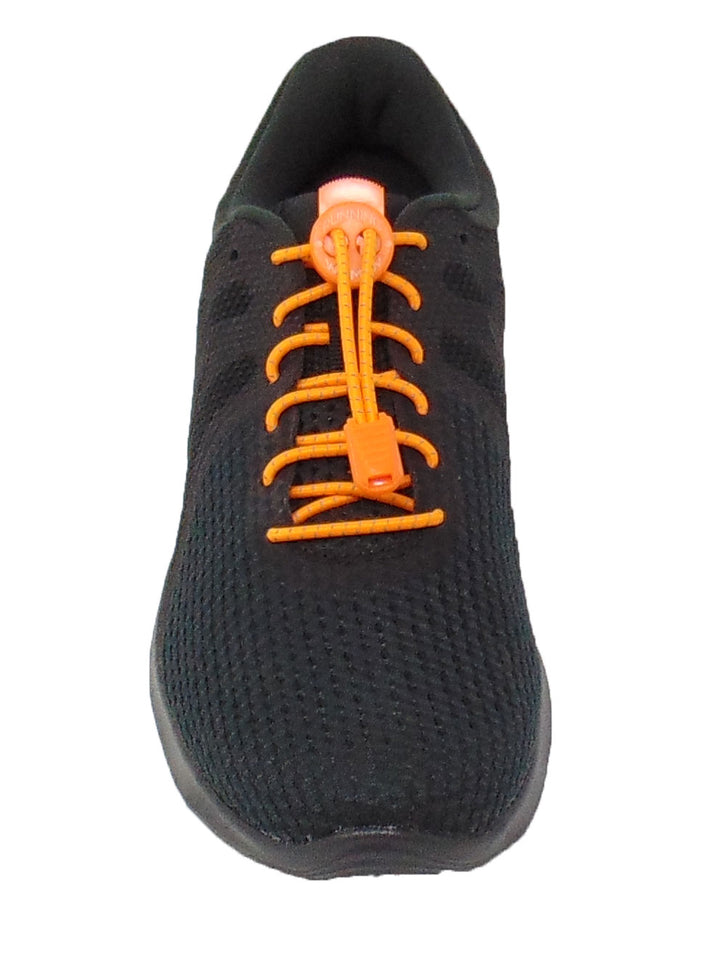 Neon Orange Reflective FastenFlex Laces