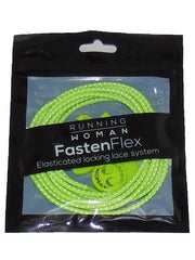 Neon Yellow Reflective FastenFlex Laces