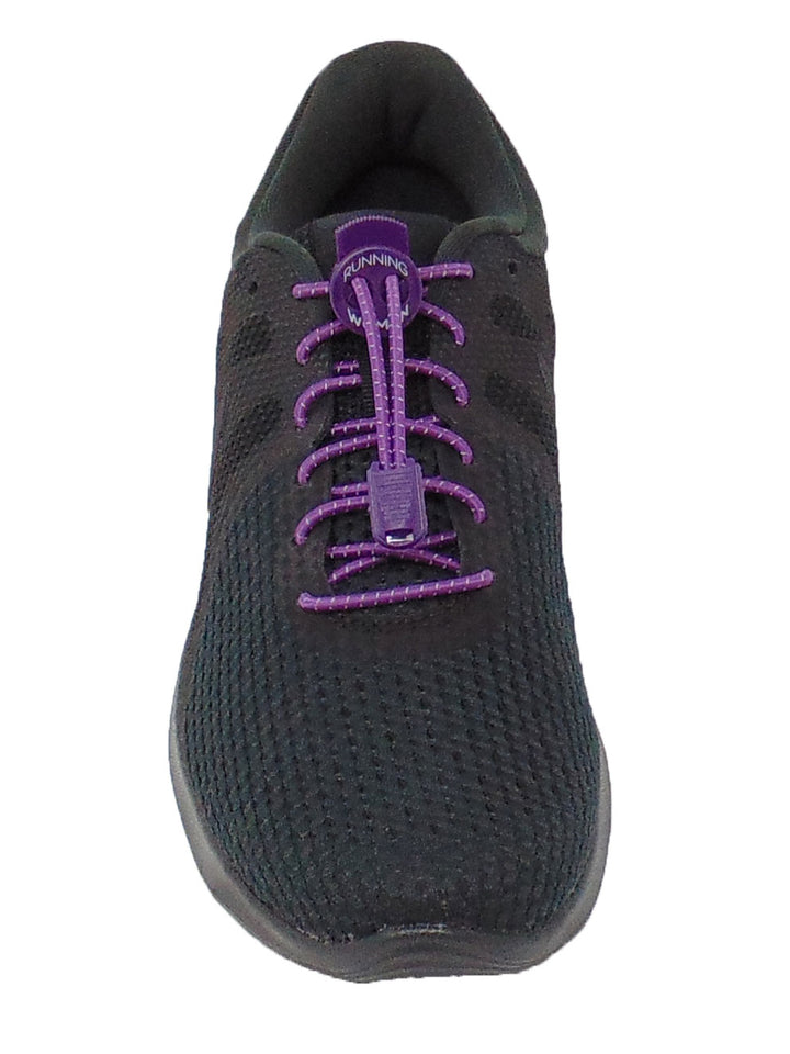 Purple Reflective FastenFlex Laces