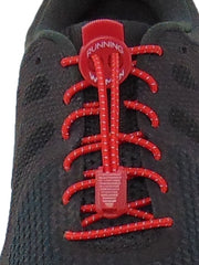 Red Reflective FastenFlex Laces