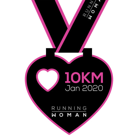 10km Virtual Run in January 2020