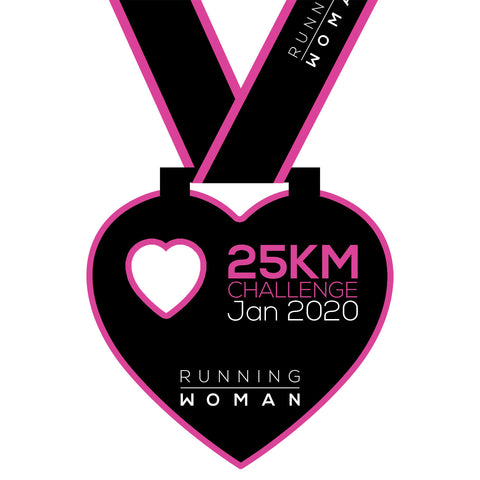 25km Virtual Challenge in January 2020