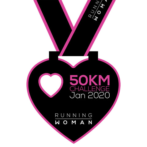 50km Virtual Challenge in January 2020