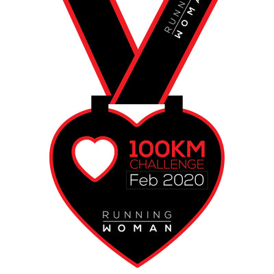 100km Virtual Challenge in February 2020