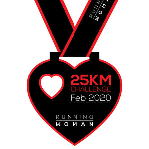 25km Virtual Challenge in February 2020