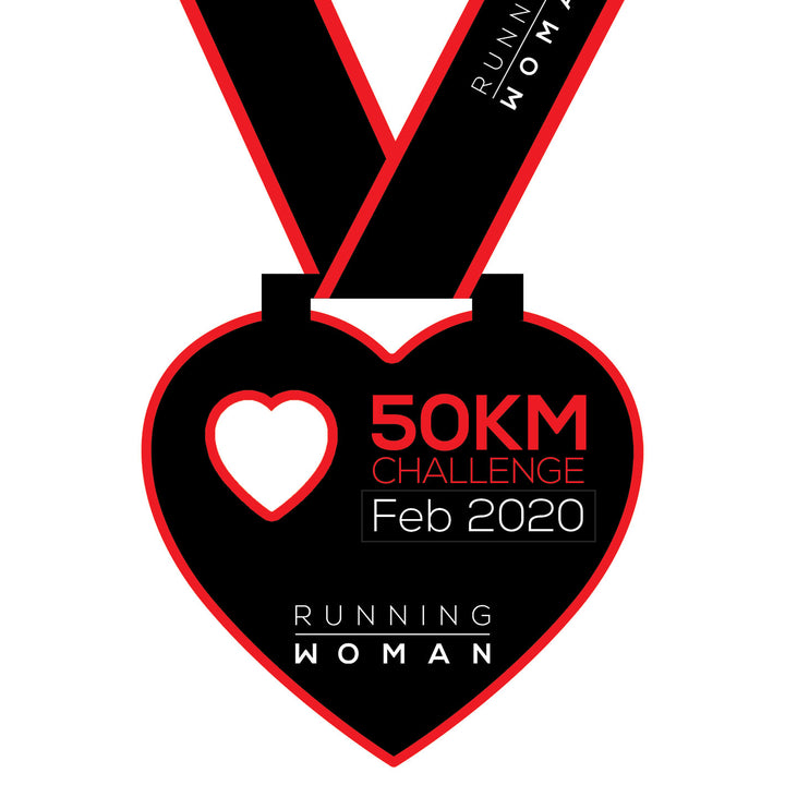 50km Virtual Challenge in February 2020