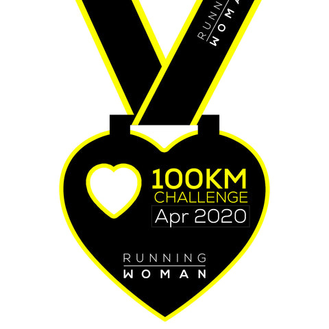 100km Virtual Challenge in April 2020