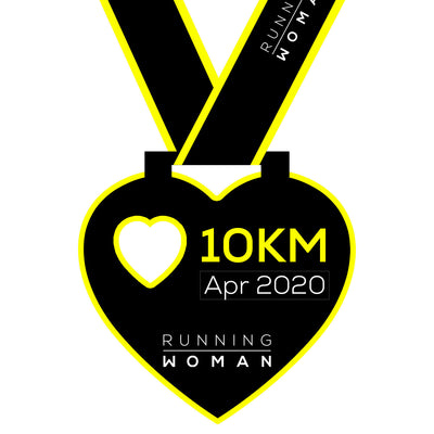 10km Virtual Run in April 2020