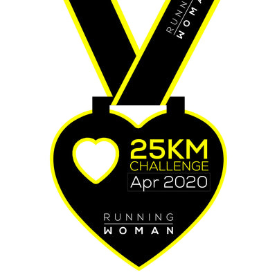25km Virtual Challenge in April 2020