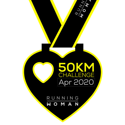 50km Virtual Challenge in April 2020