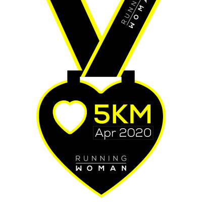 5km Virtual Run in April 2020