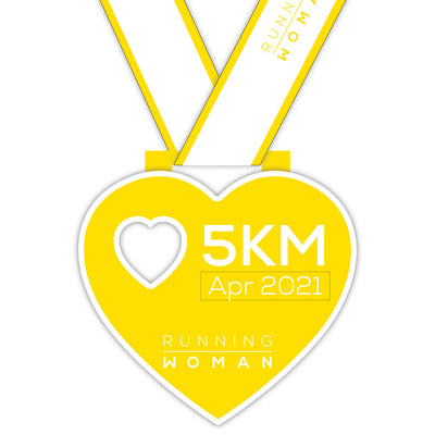5km Virtual Run in April 2021