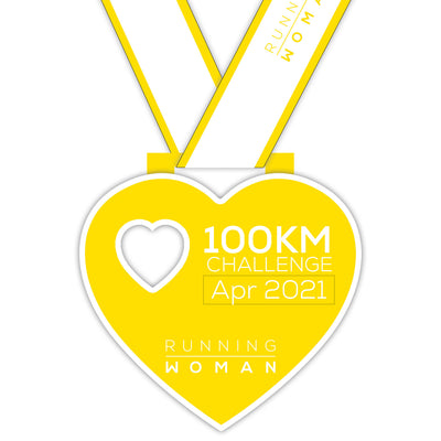 100km Virtual Challenge in April 2021