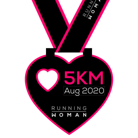 5km Virtual Run in August 2020