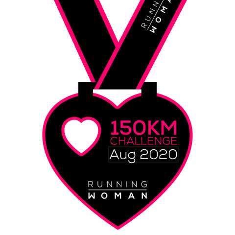 150km Virtual Challenge in August 2020
