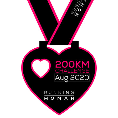 200km Virtual Challenge in August 2020