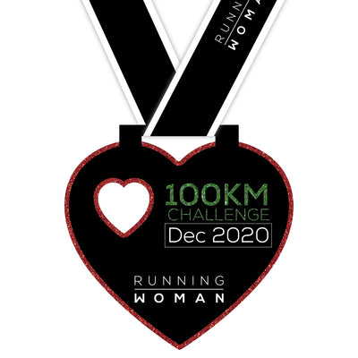 100km Virtual Challenge in December 2020