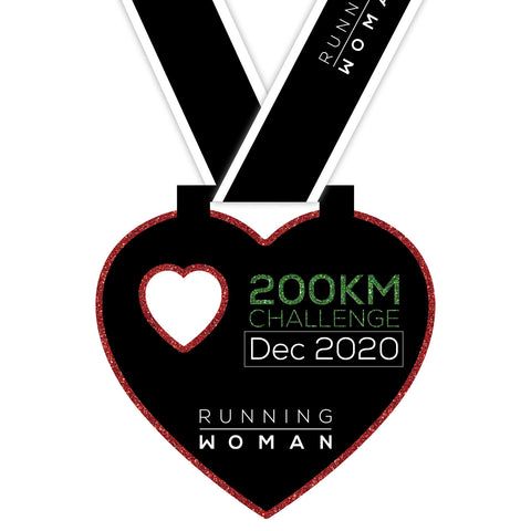 200km Virtual Challenge in December 2020