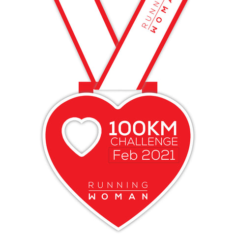 100km Virtual Challenge in February 2021