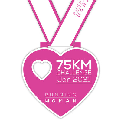 75km Virtual Challenge in January 2021