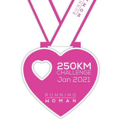 250km Virtual Challenge in January 2021