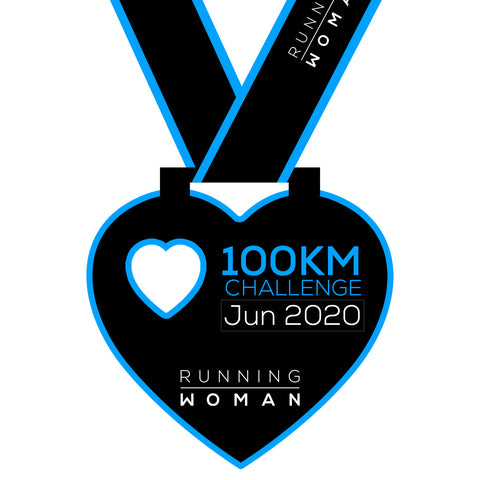 100km Virtual Challenge in June 2020