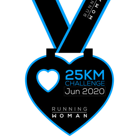 25km Virtual Challenge in June 2020
