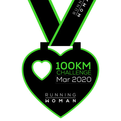 100km Virtual Challenge in March 2020
