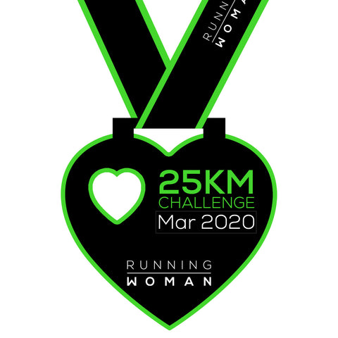 25km Virtual Challenge in March 2020