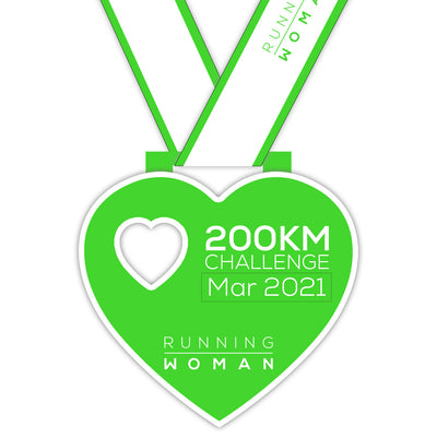 200km Virtual Challenge in March 2021