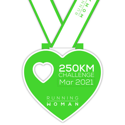 250km Virtual Challenge in March 2021